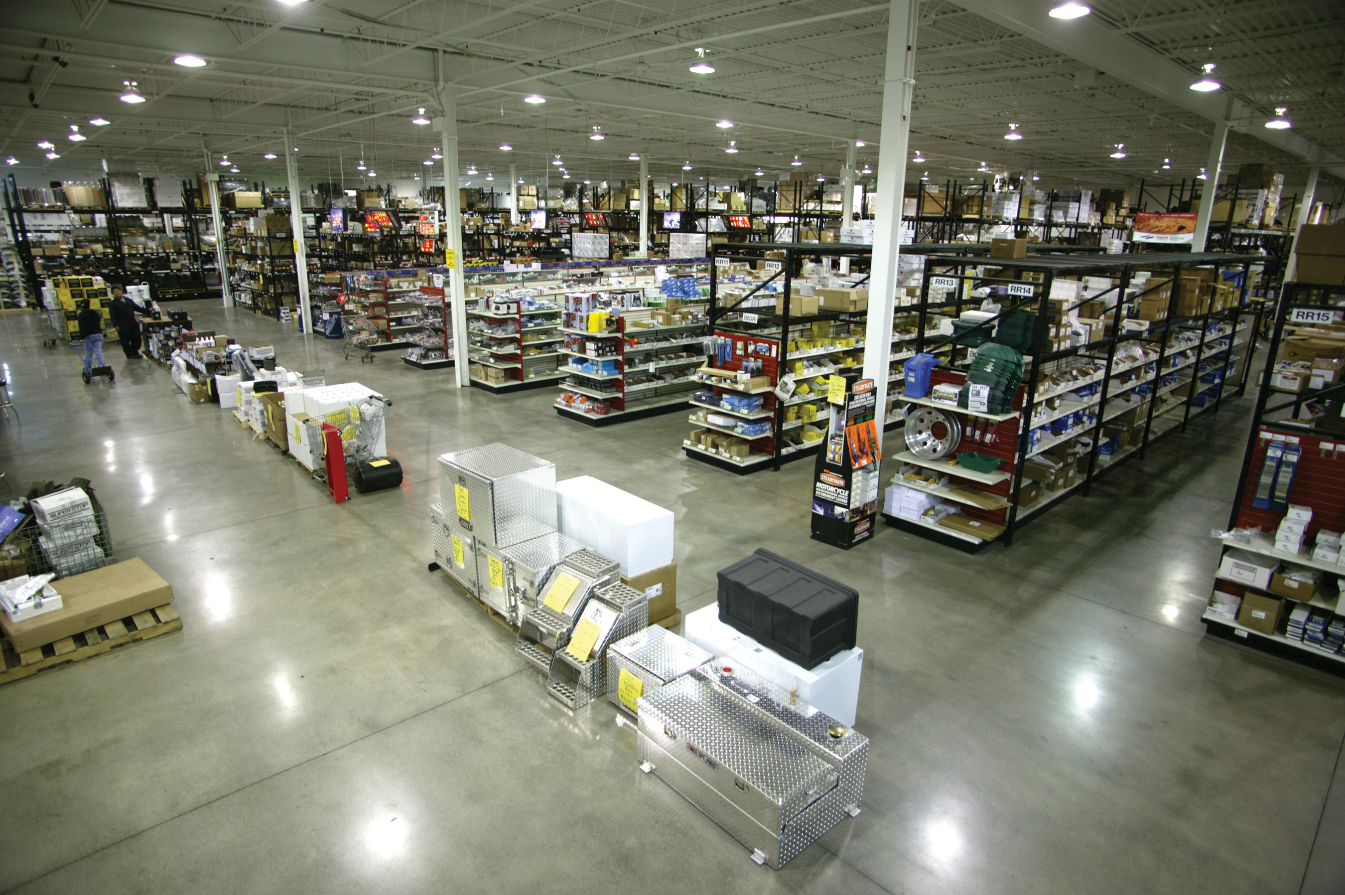 Exciting Careers in Parts and Warehousing
